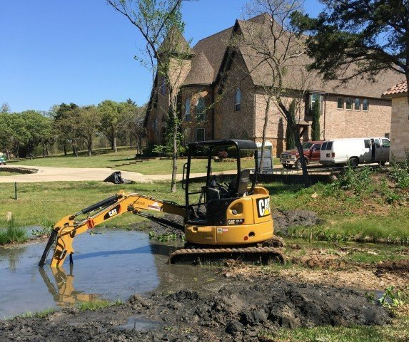 Erosion control - Lake Construction image