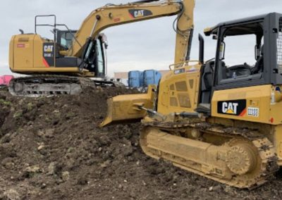 Excavation Worx excavator and dozer image