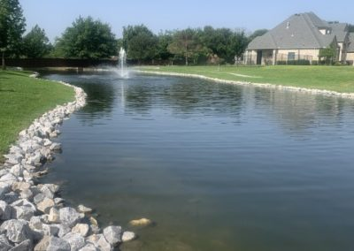 community pond in fort worth tx image
